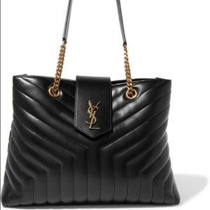 Saint Laurent Loulou large leather shoulder bag